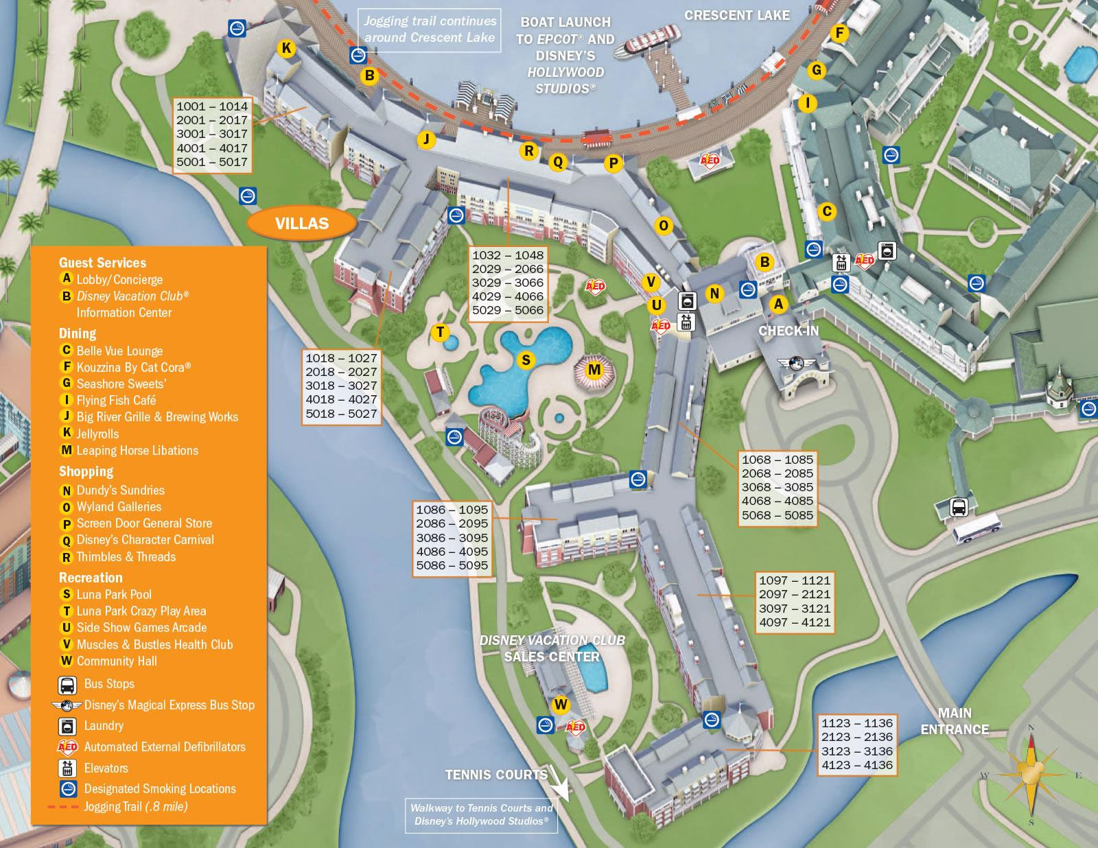 Disneys-BoardWalk-Villas-Resort-Map