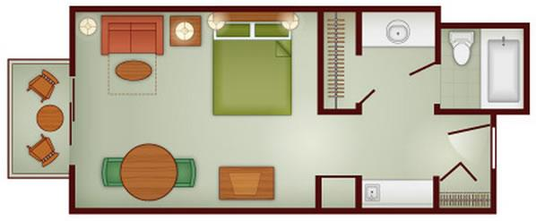 boulder ridge studio layout